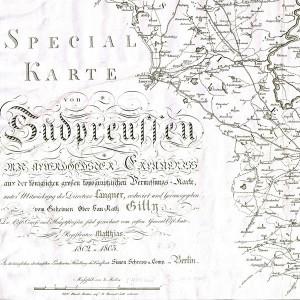 1802–1803. Special-Karte von Südpreußen