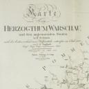 1812. Kartę vom Herzogthum Warschau