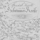 1821 Atlas von dem Regierungs Departement Posen im Grossherzogthum Posen