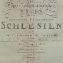 1809.Topographisch militairische Atlas Herzogthume Schlesien