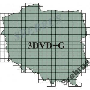 Wojskowe Mapy Topograficzne  3 DVD